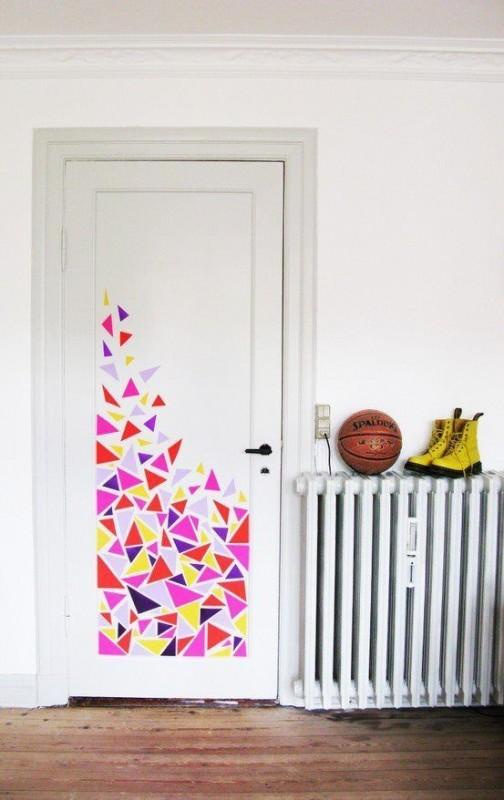 DECO : égayez votre intérieur avec de simples rouleaux adhésifs colorés 3
