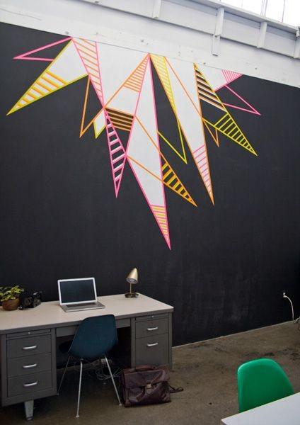 DECO : égayez votre intérieur avec de simples rouleaux adhésifs colorés 9