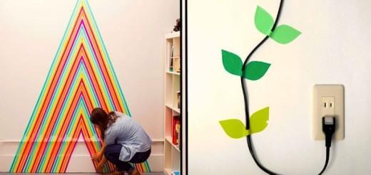 DECO : égayez votre intérieur avec de simples rouleaux adhésifs colorés 20