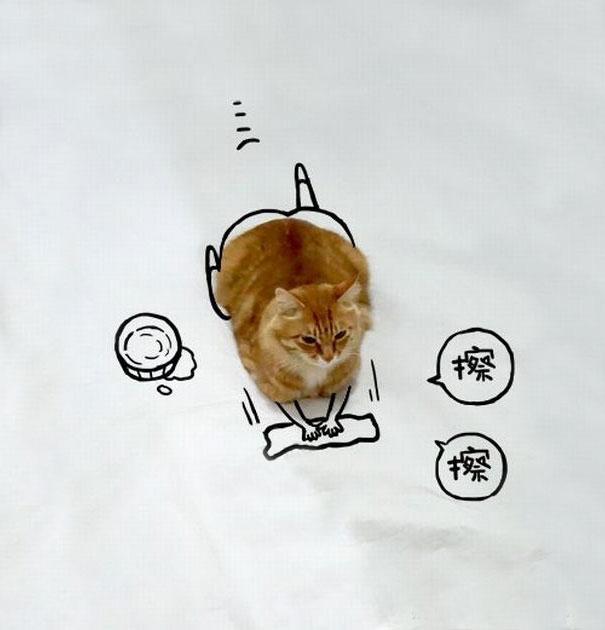 dessin-chat-amusant-4