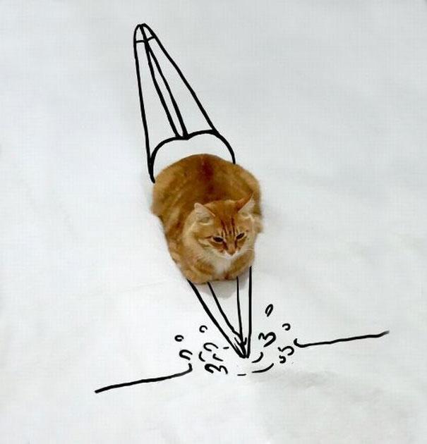 dessin-chat-amusant-6