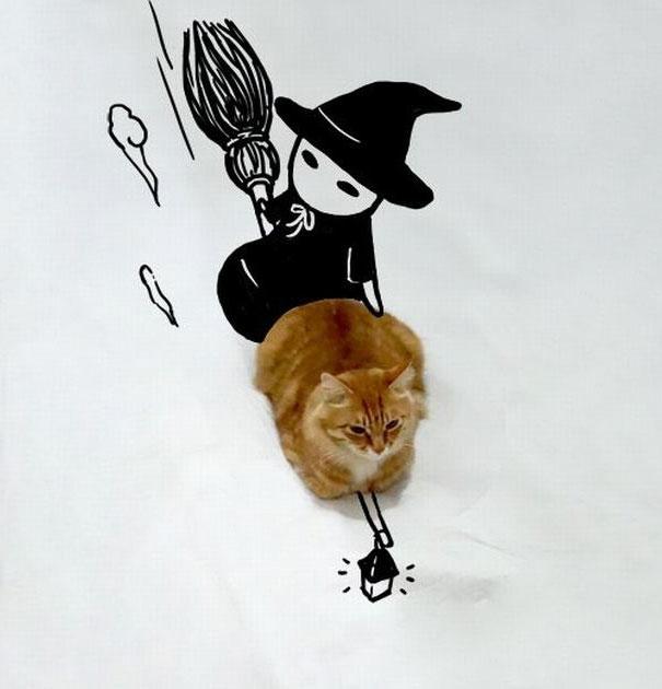 dessin-chat-amusant-9