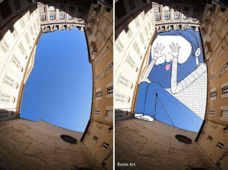 dessins dans le ciel 17
