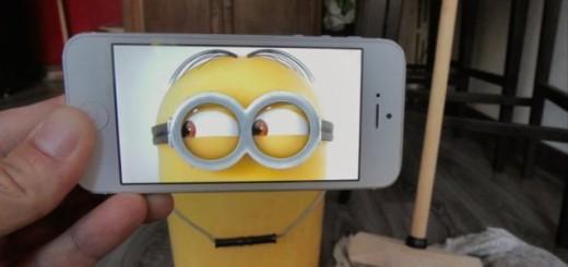 Il intègre des scènes de films dans la réalité grâce à un Iphone 3