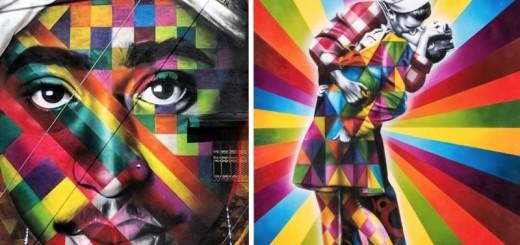 STREET ART : l'univers très coloré d'Eduardo Kobra 26