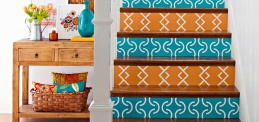 Voici quelques astuces pour rendre votre escalier atypique et coloré 3