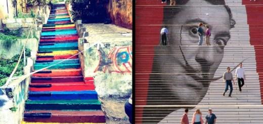 STREET ART : Les 17 plus beaux escaliers du Monde 18