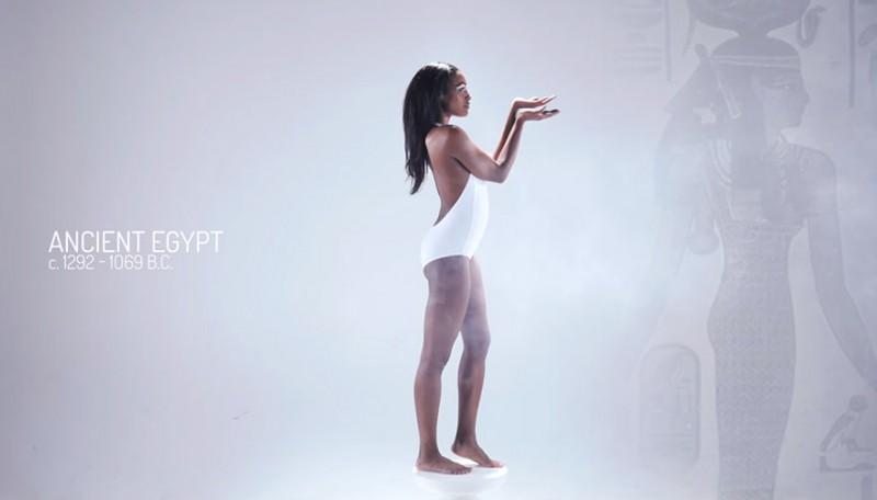 l'évolution du corps des femmes en images