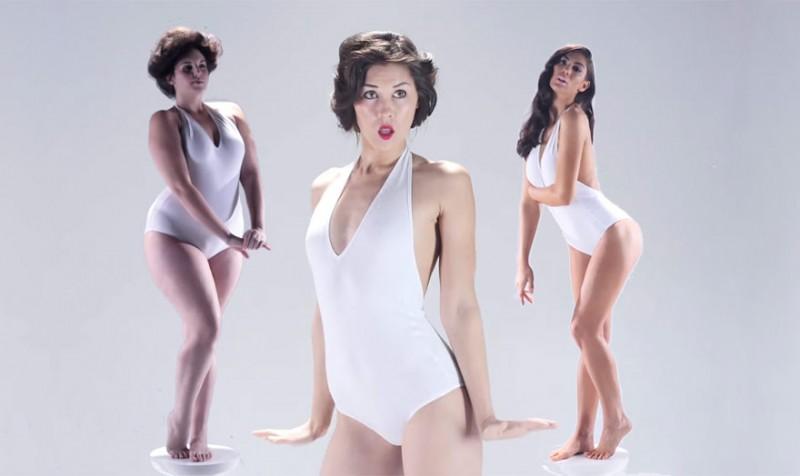 3000 ans de beauté féminine résumés en 3 minutes 12