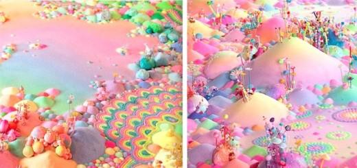 Candyland: l'univers artistique des bonbons 16