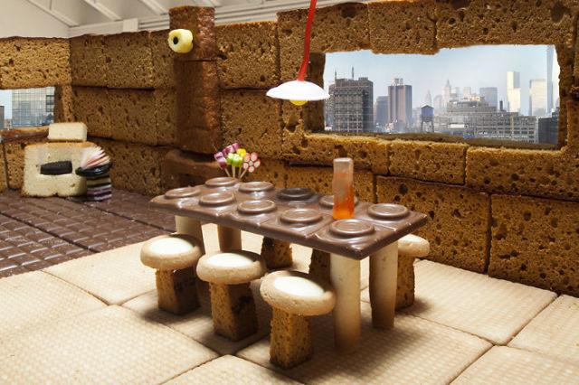 FOOD ART. Un Loft en pain d'épice. 4
