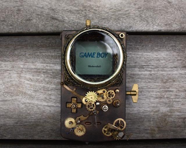 La Game Boy version steampunk 11