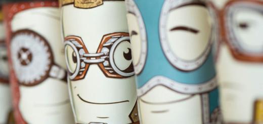 Des gobelets design avec une particularité ingénieuse 3
