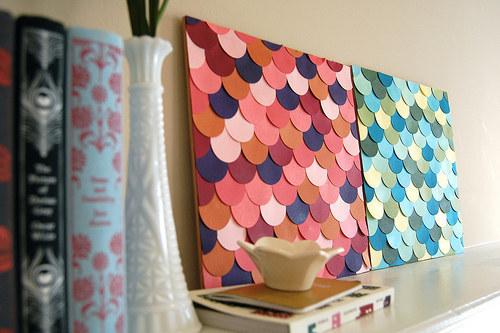 30 idées créatives pour habiller les murs de votre maison 17