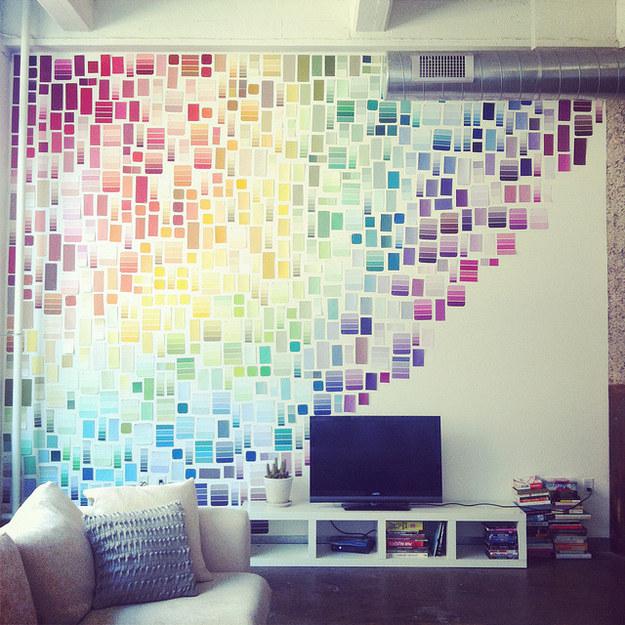 30 idées créatives pour habiller les murs de votre maison 2