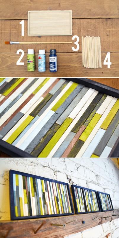30 idées créatives pour habiller les murs de votre maison 25