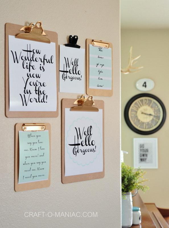 30 idées créatives pour habiller les murs de votre maison 29