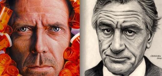 ART : ces célébrités sont en réalité des dessins très réalistes 13