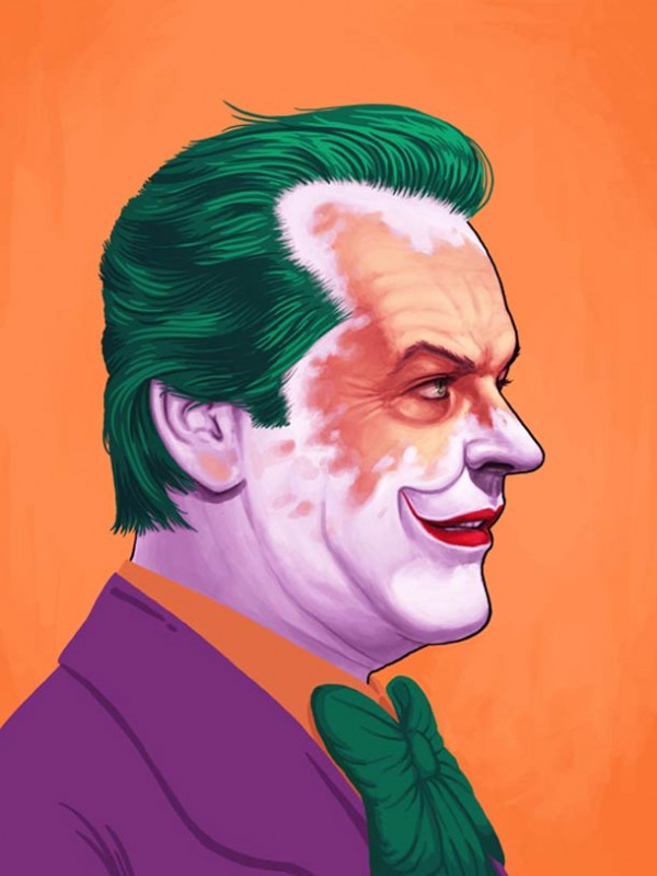 ART : les superbes portraits de Mike Mitchell 11