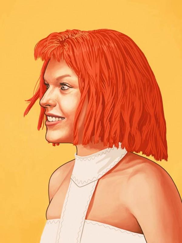 ART : les superbes portraits de Mike Mitchell 30