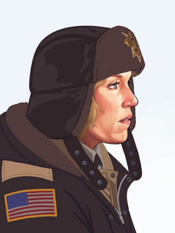 ART : les superbes portraits de Mike Mitchell 32