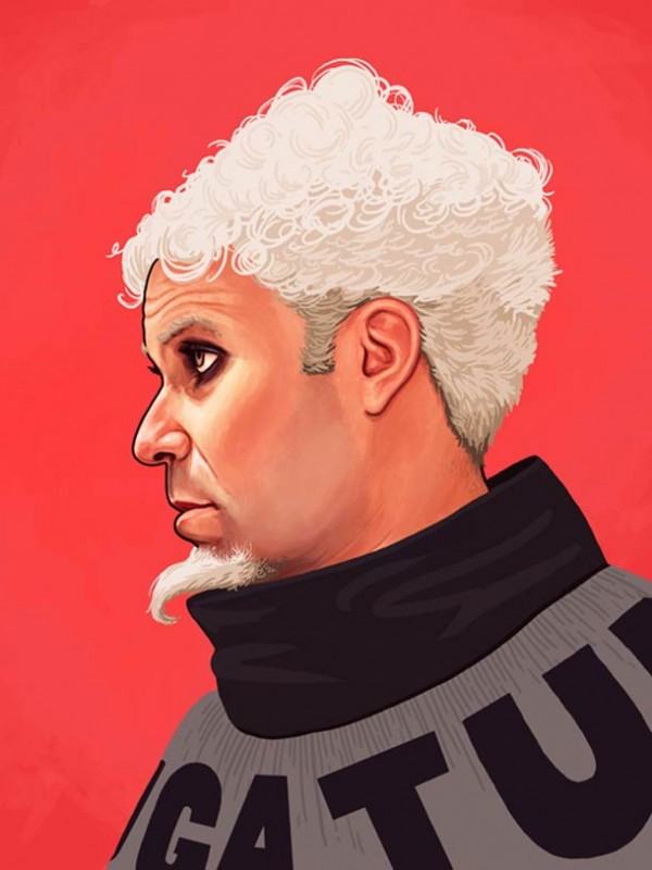 ART : les superbes portraits de Mike Mitchell 18