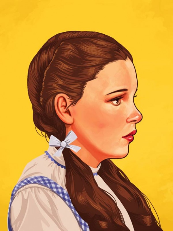 ART : les superbes portraits de Mike Mitchell 6