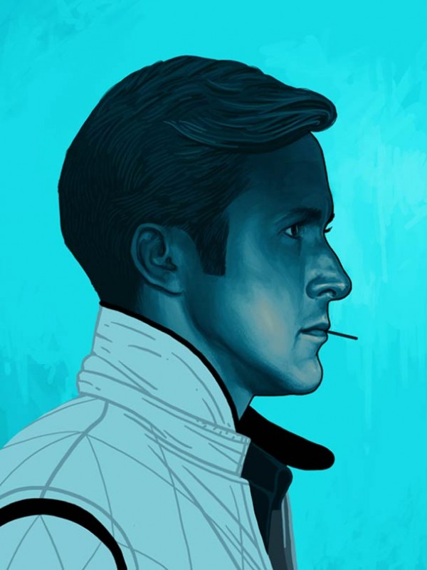 ART : les superbes portraits de Mike Mitchell 8