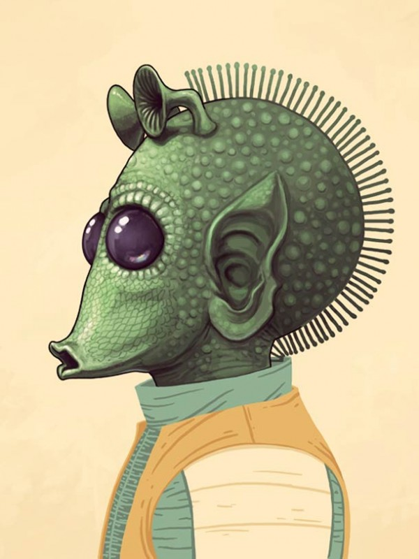 ART : les superbes portraits de Mike Mitchell 26