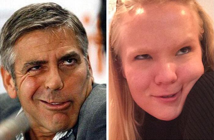 Cette fille imite les expressions faciales de personnages célèbres 15