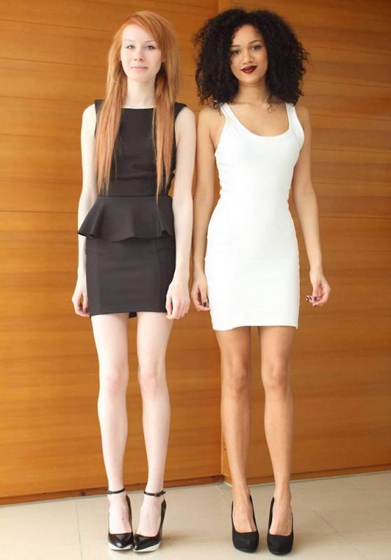 INCROYABLE : ces deux filles sont de vraies jumelles ! 11