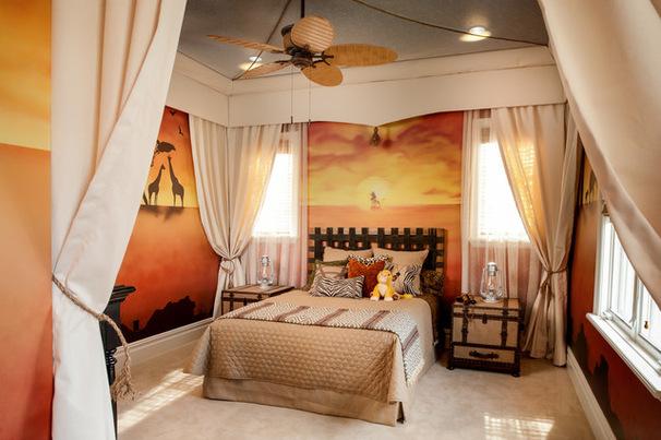 12 chambres inspir es de l 39 univers disney. Black Bedroom Furniture Sets. Home Design Ideas