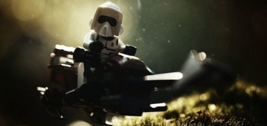 Les LEGO prennent vie dans des scènes de Star Wars 1
