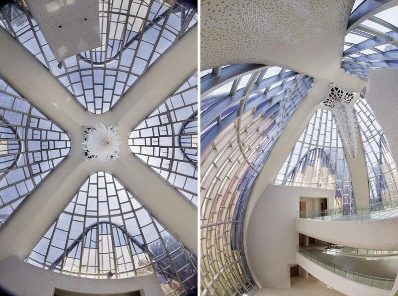 CHINE : visitez le magnifique Lotus Building 1