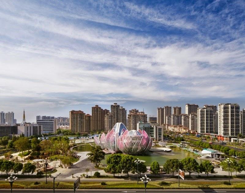 CHINE : visitez le magnifique Lotus Building 10