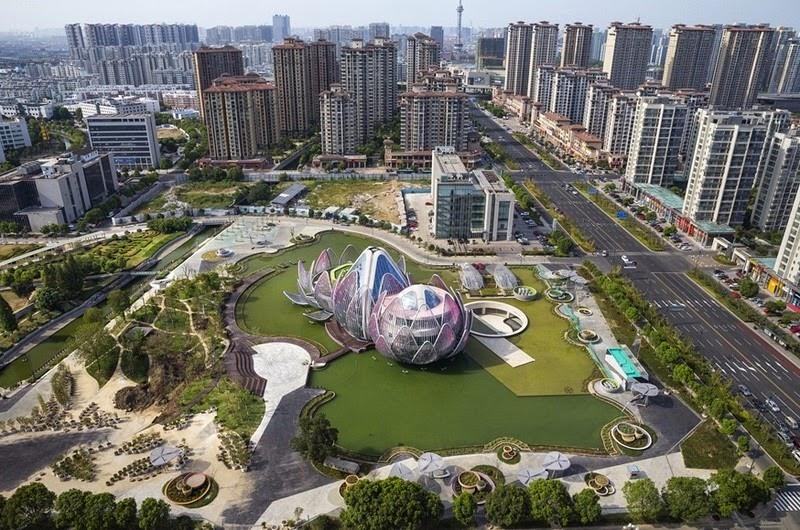 CHINE : visitez le magnifique Lotus Building 5
