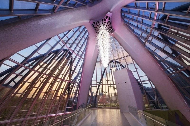 CHINE : visitez le magnifique Lotus Building 6