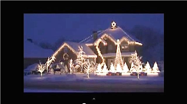 EXCELLENT : Une illumination de Noël en musique !