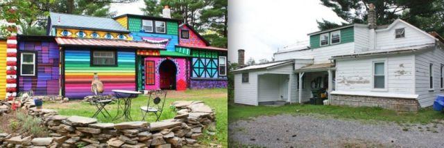 Visitez la maison très colorée de l'artiste Kat O'Sullivan 17