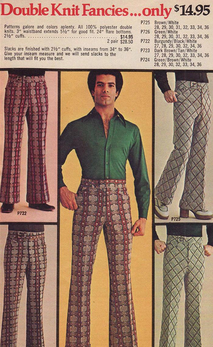 souvenez vous de la mode vestimentaire masculine des ann es 70. Black Bedroom Furniture Sets. Home Design Ideas