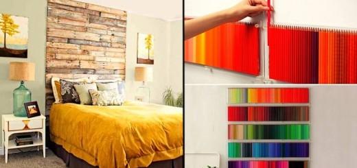 30 idées créatives pour habiller les murs de votre maison 31