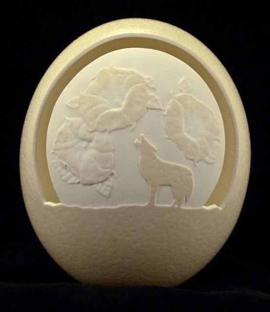 The eggshell, des sculptures sur coquilles d'oeufs 3