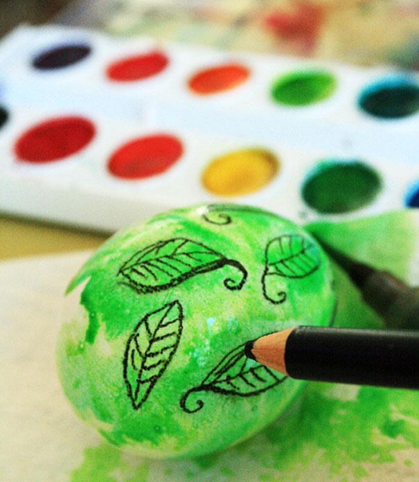 20 idées créatives pour décorer des oeufs de pâques 13