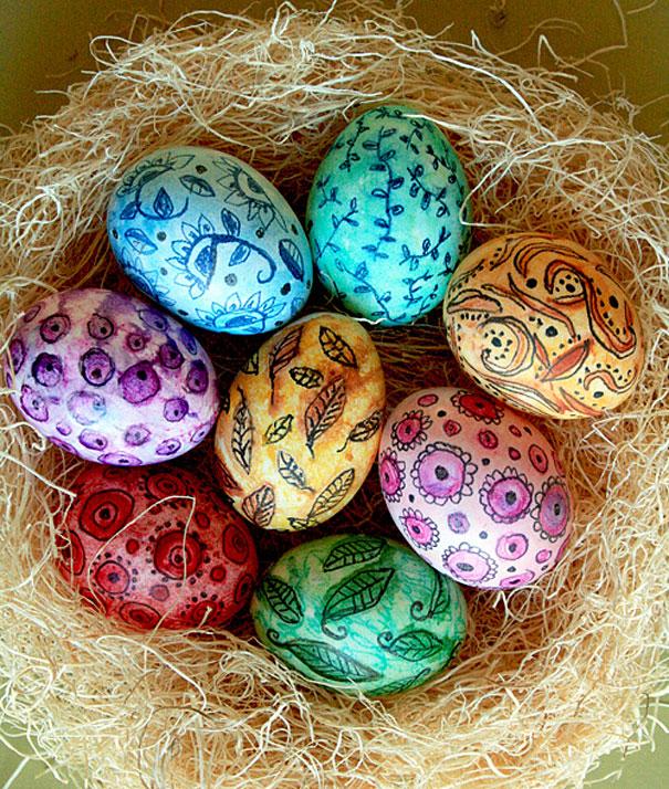 20 idées créatives pour décorer des oeufs de pâques 14
