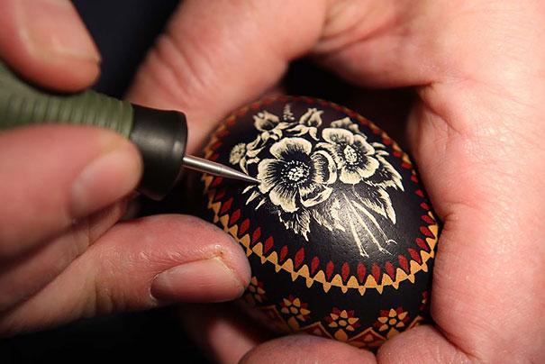 20 idées créatives pour décorer des oeufs de pâques 15