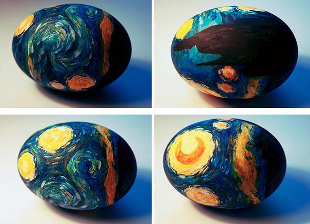 20 idées créatives pour décorer des oeufs de pâques 16