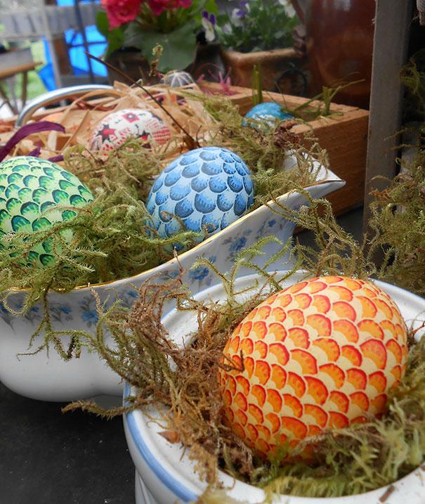 20 idées créatives pour décorer des oeufs de pâques 18