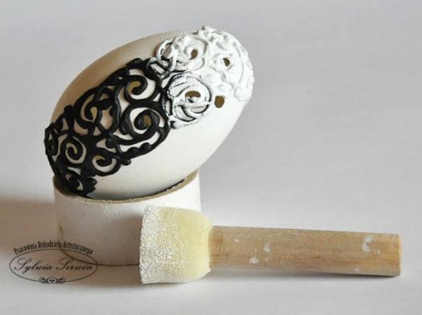 20 idées créatives pour décorer des oeufs de pâques 23