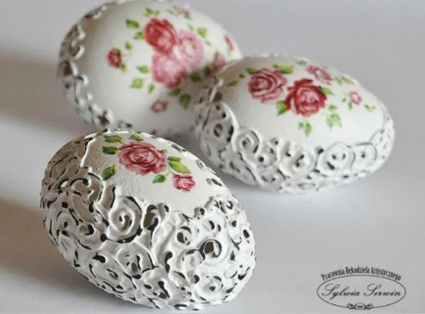 20 idées créatives pour décorer des oeufs de pâques 25