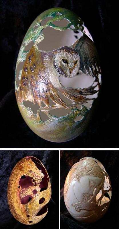 20 idées créatives pour décorer des oeufs de pâques 30